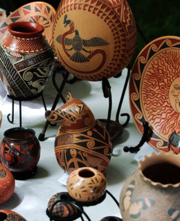 Hand made crafts at Living Traditions Festival in Salt Lake City, Utah