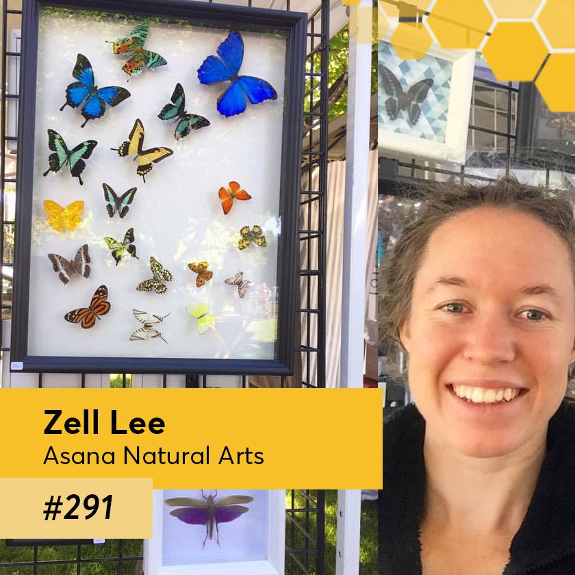 Episode 291 – Zell Lee, artist – Asana Natural Arts